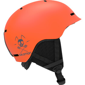 Salomon Grom Helmet Kinder flame